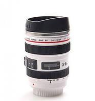 Кружка объектив Canon EF 24 -105 mm  с поилкой