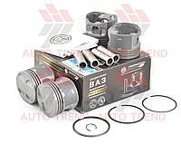 Поршневая группа ВАЗ 21124 (двигателя1,6; 16-ти клапанный.) (82,8 E) (поршня+пальцы+кольца) комплект, индивидуальная упаковка