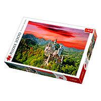 Пазл Замок Нойшванштайн, Бавария, 2000 элементов, TFL-27050, Trefl