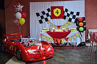 Детская кровать машинка Форсаж машина красная, фото 1