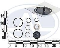 Ремкомплект набор (стоп.колец) шайб КПП ВАЗ 2110-1118 5-х ступенчатая (без шайб 5-й пер). Ремкомплект(24592)