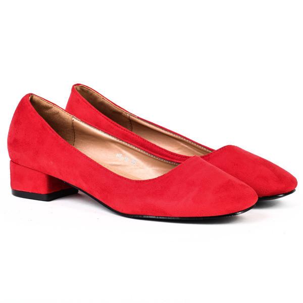 Стильные туфли на низком ходу, удобные в носке