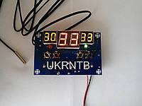Термореле / Терморегулятор / Термостат / Регулятор температуры / -9 ~ +99 °C, 12 В / 220 В, до 10 А