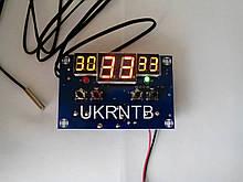 Термореле / Терморегулятор -9 ~ +99 °C, 12 В / 220 В, до 10 А / Термостат / Регулятор температуры