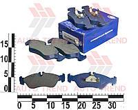 Колодки тормозные задние Mercedes Sprinter 308-314.VW LT 35 комплект. FCB1045 (FRICO)