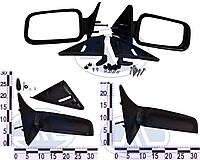 Зеркало правое, левое ВАЗ 2110, 2111, 2112, с уголками и винтами, комплект 21100-8201004-00 (ДААЗ)