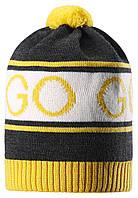 Зимняя шапка для мальчика Reima Cone 528555-9730. Размеры 48-56. , фото 1