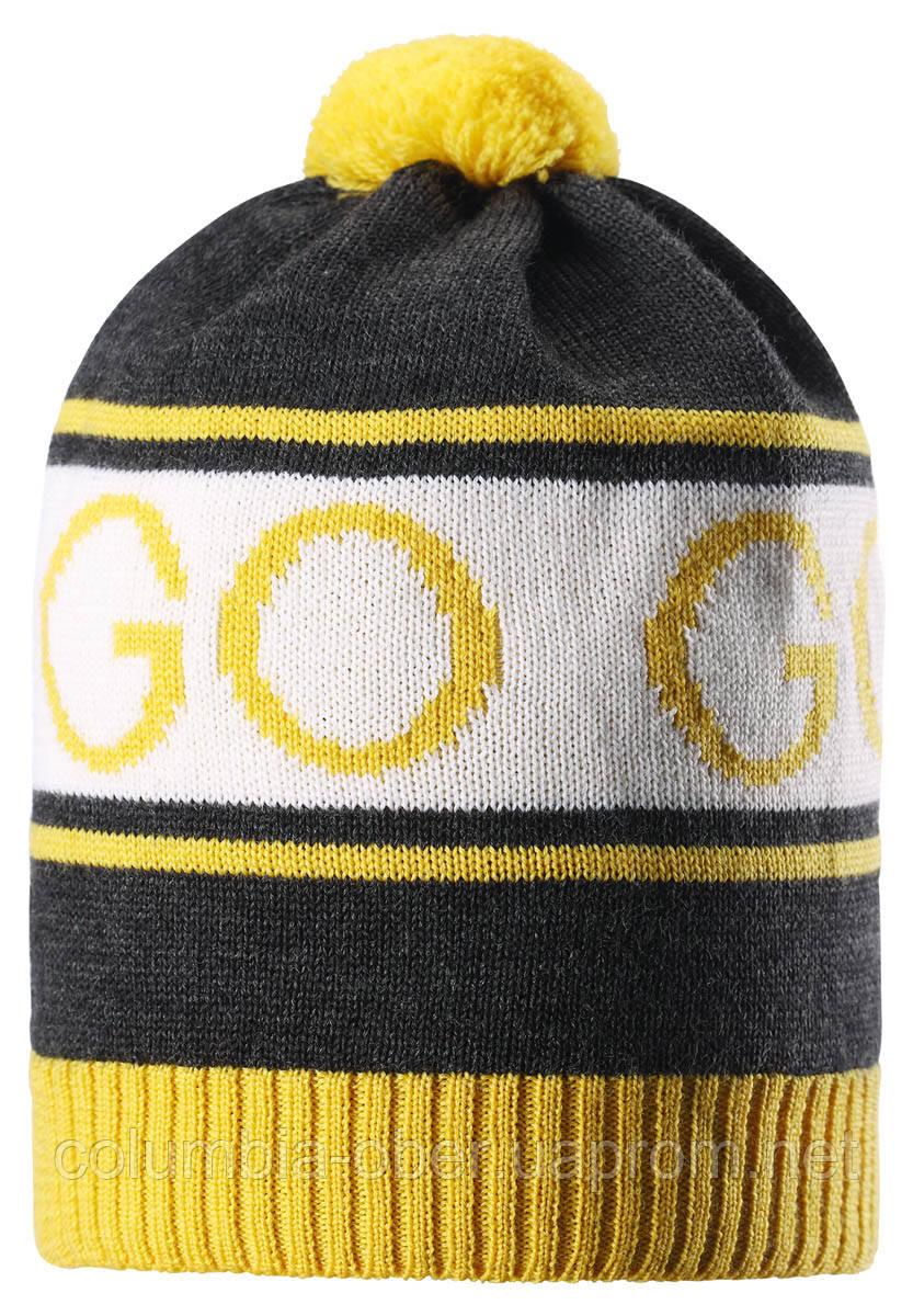 Зимняя шапка для мальчика Reima Cone 528555-9730. Размеры 48-56.