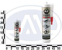 Герметик силиконовый K2 SIL RED (RED SILICON +350С) 300g (красный). B230