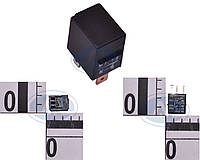 Реле 5-ти контактное 12v (10А/20А, узкое, Т-обр.) ВАЗ 2170, 2171, 2172 Приора. 98.3747.000 (АВАР)