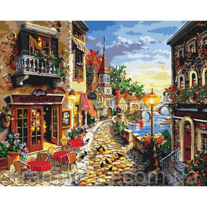 Картины по номерам Уютная улочка (КНО2132): купить в ...