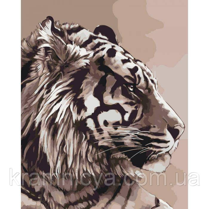 Картины по номерам Амурский тигр, 40х50см. (КНО2496)