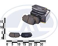 Колодки тормозные задние диск KIA CARENS 06-. EC1197
