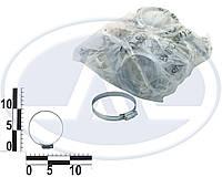 Хомут червячный 60-80/10 mm (упаковка 50 шт.) TORK. 60-80/10mm
