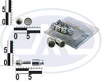 Болт 12х 28 колес хром конус секретки (2 ключа) (ш 1.5) (4 шт) WALLINE (блист) Lanos(сталь,литой)