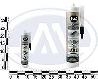 Герметик силиконовый K2 SIL BLACK (BLACK SILICON +350С) 300g (черний). B200