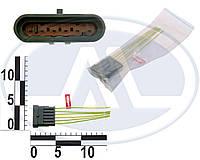 Колодка штыревая 6-ти контактная, с проводами. АХ-322-2