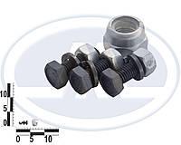 Болт 8х 25 шаровой ВАЗ 2101-2107 в сборе (3 комплект + гайка 14 с/к- 1шт) (пакет). набор24Р (БЕЛЕБЕЙ)