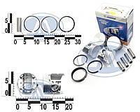 Поршневая группа ВАЗ 2101-2107 2101, 2103 (76,4 A) (поршня+пальцы+кольца) комплект, индивидуальная упаковка. 21010-1004018-АР-A (КОСТРОМА)