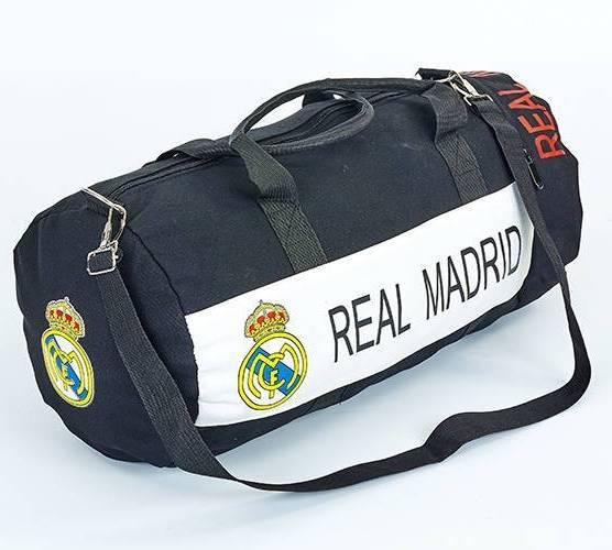 5fbda6ec4f8f Спортивная сумка-бочонок REAL MADRID (5633-4) черная: продажа, цена ...