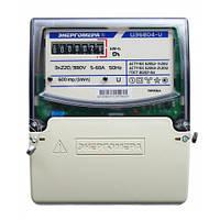 Трехфазный электросчетчик прямого включения ЦЭ6804-U/1 230В 5-60А 3ф.4пр. ЭР32 (Энергомера )