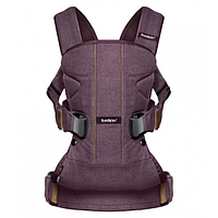 Рюкзак BABYBJORN Carrier ONE Blackberry red Cotton Mix 093077-A, фото 1
