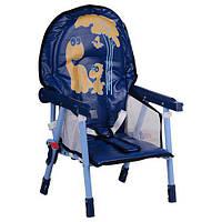 Детский стульчик для кормления Bambi Blue (HC100A)
