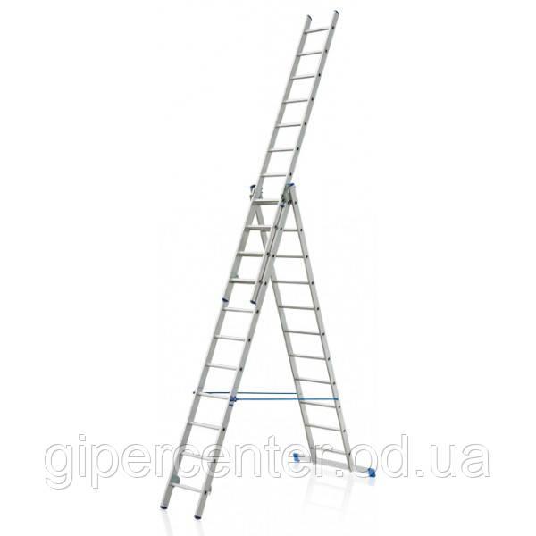 Лестница 3-х секционная ELKOP VHR H 3x10