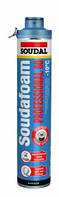 Профессиональная зимняя монтажная пена  SOUDAL Gun P60 click, 750мл