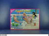 """Мебель """"Gloria"""" для пляжа,бассейн,стол,стулья...,в кор. 41*30см /24-2/(9879)"""