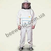 Костюм пчеловодный с пришитой сеткой, р-р (64)