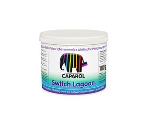Пигмент-хамелеон CAPADECOR SWITCH LAGOON WATER зелено-бирюзово-голубой, 0,1кг