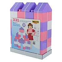 Конструктор строительный XXL, 36 элементов, «Wader» (40299)