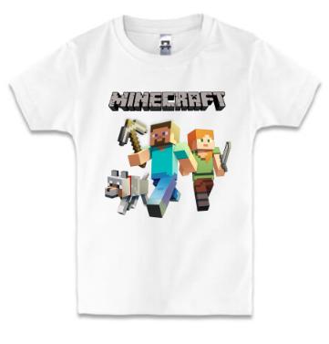 Детская футболка MINECRAFT, фото 2