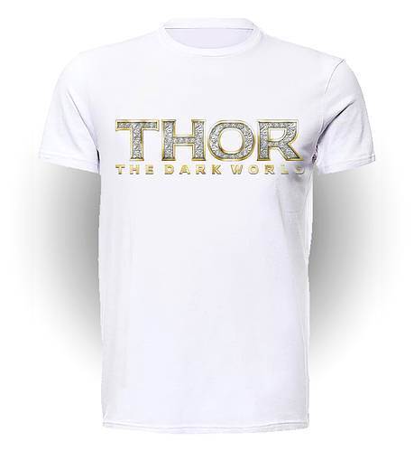 Футболка мужская GeekLand Тор Thor Thor dark world logo art TH.01.019