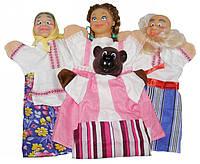 Кукольный домашний театр МАША И МЕДВЕДЬ (4 персонажа) //(B068)