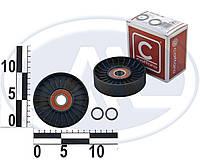 Ролик обводной ремня приводного HYUNDAI/KIA CARNIVAL 2.5 CRDI 57058 //0K9BV-10-730A (CAFFARO)
