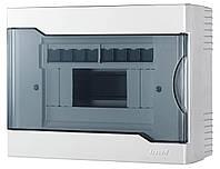 Бокс (Щит) наружный 8 модуля Lezard ЩРНП-8