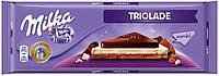 Шоколад молочный Milka Triolade 300 г. Швейцария!