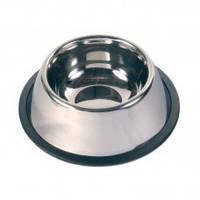 Миска высокая из нержавеющей стали для собак 20,5 см. (525 мл.)