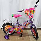 Детский велосипед Mustang Winx 16 дюймов фиолетовый, фото 2