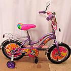 Детский велосипед Mustang Winx 16 дюймов фиолетовый, фото 3