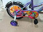 Детский велосипед Mustang Winx 16 дюймов фиолетовый, фото 4