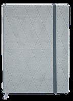 Щоденник недатований CASTELLO, A6, 336стр. серый