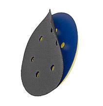 """Подложка на 6 отверстий для оправки - Flexipads Velcro Convertors 6 Hole PSA/Grip 150 мм. 6"""" черная (32801)"""