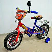 Детский  велосипед Mustang Тачки 16 дюймов