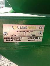 Разбрасыватель розкидач лейка  1200 л Land Force Турция, фото 3