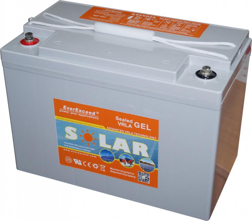 Гелевый аккумулятор серии SOLAR GEL RANGE ES250-12 G