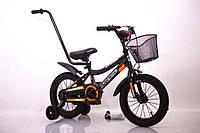 """Детский двухколесный велосипед INTENSE 14"""" N-200 Black, фото 1"""