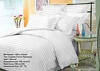 Комплект постельного белья Страйп-сатин Премиум